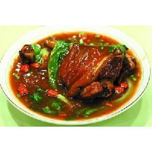 天麻花生猪手汤