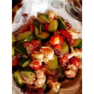 泰式鲜虾沙拉
