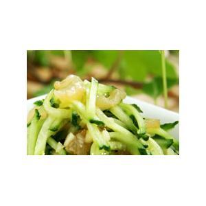凉拌海蜇黄瓜丝