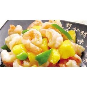 蜜桃炒虾仁
