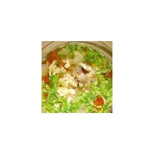 老板鱼炖酸菜豆腐汤