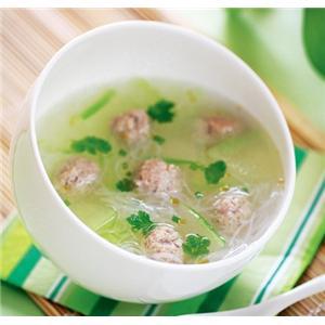 冬瓜海米粉丝汤
