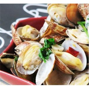 青椒炒花蛤