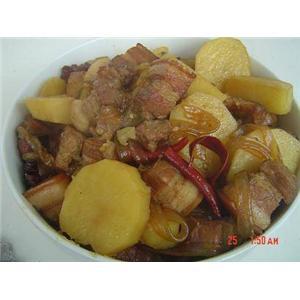 猪肉土豆炖粉条
