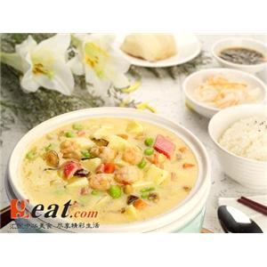 双菇豆腐煲