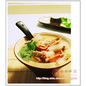 白胡椒火腿汤
