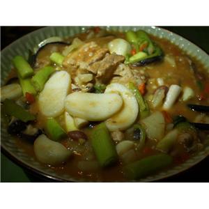 咖喱味蔬菜浓汤