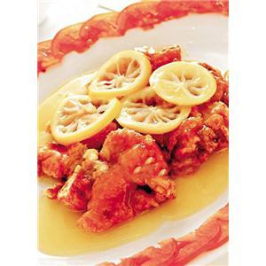 姜茸柠檬锔鸡腿