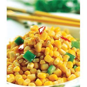玉米银鱼鸡蛋煎
