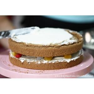 8寸可可戚风蛋糕