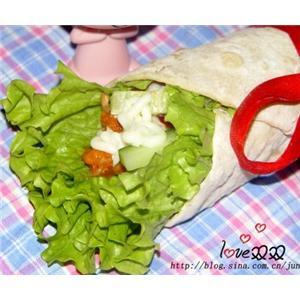 肯德基墨西哥鸡肉卷