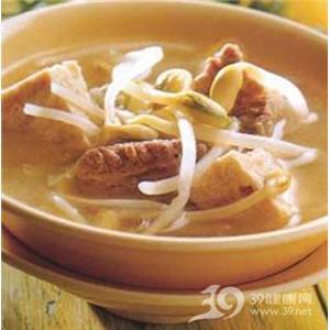 薄荷藕丝汤
