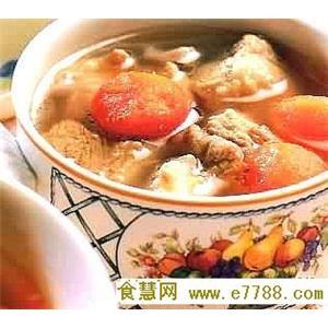 青胡萝卜排骨汤