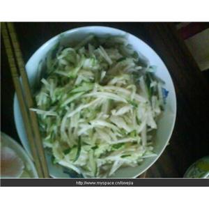 猪肝拌黄瓜
