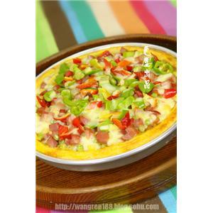 橄榄火腿披萨