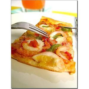 鱼丸披萨的做法大全图解法