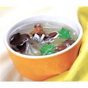 蘑菇藕片汤
