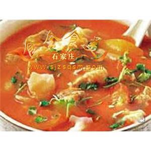 番茄蛇粉汤