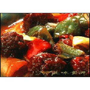 红烧猪肉丸子