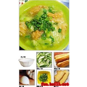 丝瓜麻油汤