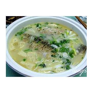 下奶鲫鱼汤