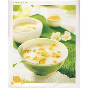 黄豆粟米冬笋菇蒂汤