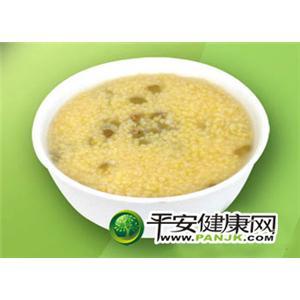 马兰头菜粥