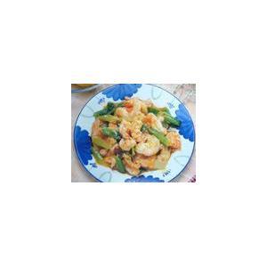 番茄焖竹节虾