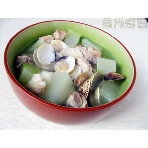 排骨蛤蛎冬瓜汤