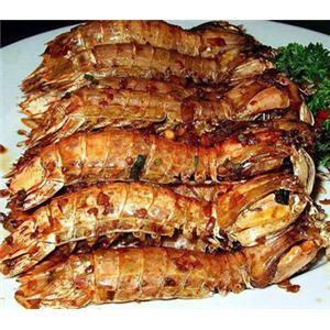 轻卤皮皮虾