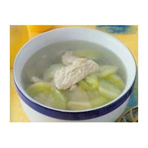 苦瓜荠菜瘦肉汤