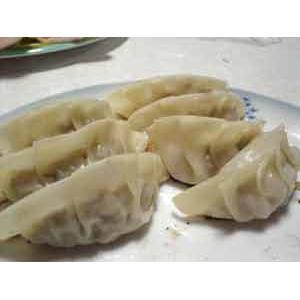 鱼肉韭黄馅饺子