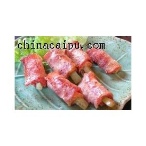 芦笋熏肉派