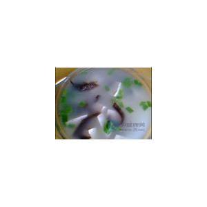 慈菇木耳汤