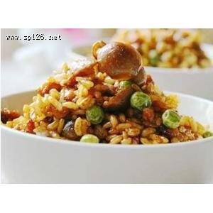 蘑菇青豆炒