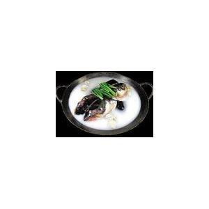 葱豉豆腐鱼头汤