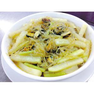 芹菜炒淡菜