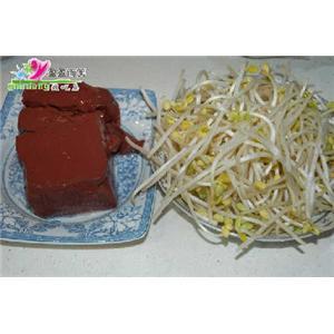 米须芽菜猪红汤
