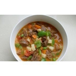西红柿牛腩杂蔬汤