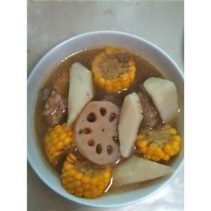 玉米山药排骨浓汤