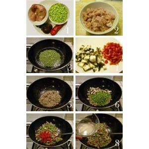 肉丁豌豆饭