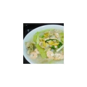 节瓜海鲜汤