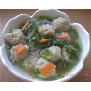 长鱼丸子汤