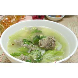 圆肉腐竹红枣白菜汤