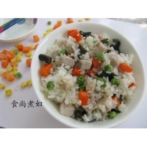 杂蔬芋香饭