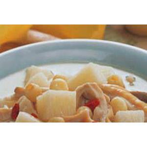 眉豆煲猪胰汤