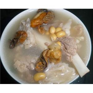 黄豆蚝豉猪肘汤