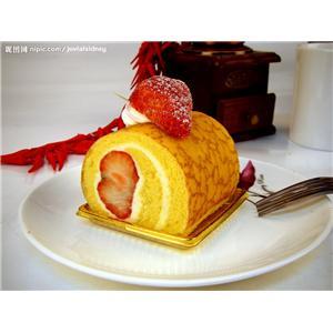 虎皮棋格蛋糕卷
