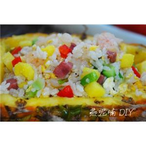 田园菠萝炒米饭