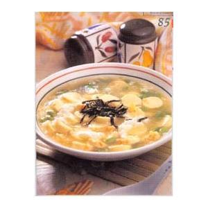雪花蟹肉豆腐羹